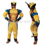 Fantasia Cosplay Muscular Wolverine X-men Adulto