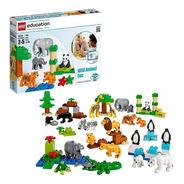 Set De Animales Salvajes Lego Education