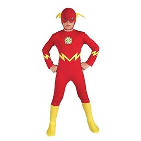 Disfraz Flash Liga De La Justicia Para Niño Talla M