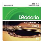 Encordado Para Guitarra Acústica Daddario Ez890 009-045 Usa