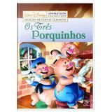 Dvd Disney - Os Três Porquinhos - Novo Original Lacrado