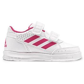 Tenis adidas Bebe Altasport Cf Color Blanco Niñas Original