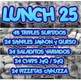 Servicio De Lunch Economico Catering 25 Personas Mesa Salada