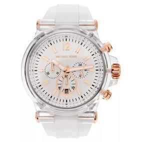 72f70ec6c5536 Relogio Michael Kors Mk5387 Branco Masculino - Relógios De Pulso no ...