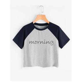 Camiseta Crop Top Morning Mañana Jako Varios Colores