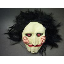 Máscara Jogos Mortais   Jigsaw   Helloween   Fantasia