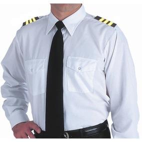 Camisa Manga Larga Tipo Piloto
