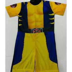 Fantasia Infantil Wolverine Capitão América E Homen De Ferro