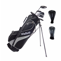 Set De 12 Palos De Golf Winfield Vertex Con Bolsa Maleta