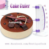 Regla Para Torta, Cake Ruler, Reposteria Moderna