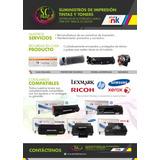 Toner Laser Starink Para Hp, Samsung, Lexmark, Xerox Nuevos