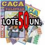 Lote 50 Revistas Caça Palavra Palavras Passatempo
