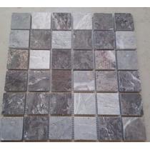 Mallas Mosaicos Tapetes Fachadas Mármol Gris 30x30cm