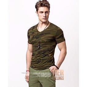 Camisa Masculino Blusa Militar Fitness Camiseta Promoção