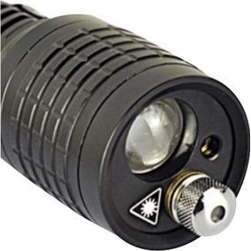 Lámpara Táctica Original 1600 Lumens 2 Laser Garantía 6meses