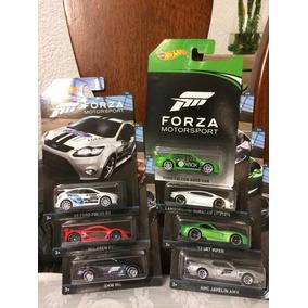Hotwheels Set 7 Forza Motorsport Xbox Falcon Javelin Mclaren