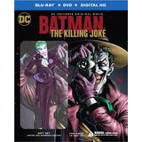 Blu-ray Batman The Killing Joke / Bd + Dvd + Figura