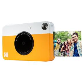 Câmera Digital Instantânea Kodak 5mp Printomatic Amarela