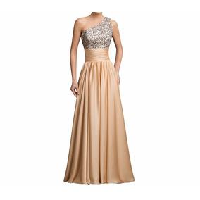 Vestido De 15 Anos Dourado 34 36 38 40 42 44 46 48 - Vg00348