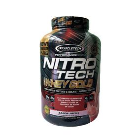 Proteína Muscletech Nitrotech Whey Gold 5.53 Lb