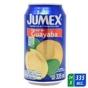 Nectar Jumex Guayaba Caja 24 Latas De 335 Ml C/u