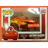 Funko Pop Cars 3 Rayo Mcqueen Rust-eze Racing Center Metalic