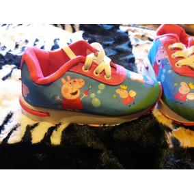 Liquidación Costo!!zapatillas Animadas Personajes Infantiles