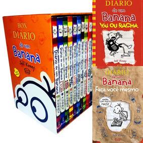 Box Diário De Um Banana - Lacrado + Poster + 2 Livros