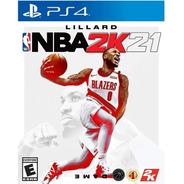 Nba 2021 2k21 Ps4 Juego Fisico Nuevo Sellado Playstation 4