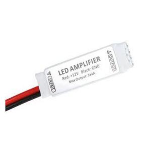 Amplificador Sinal Fita Led Rgb 5050 3528 Conector Repetidor
