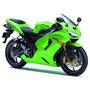 Base Poliester Verde Kawasaki 500ml P/ Uso+ 1 L Barniz Pu