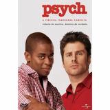 Dvd Psych A 3ª Temporada Completa - Original Lacrado 4 Dvds