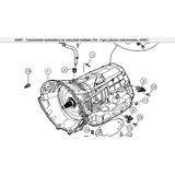 Caja Automatica 45rfe G.cherokee/wrangler 2000/6 04799613ab