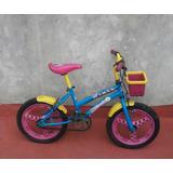 Bicicleta De Minnie Para Niñas Rodado Genial Estado Barata