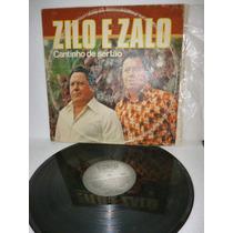 Zilo E Zalo Cantinho De Sertão Lp Raro 1981