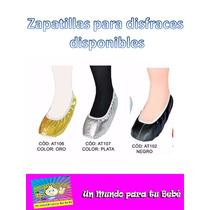 Zapatillas Toreritas Para Disfraces Niño Y Niña Pequemania