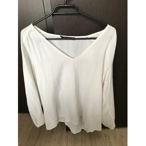 Camisa De Mujer Marca Zara Talla Xl