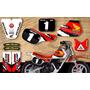 Kit Calcos Honda Qr 50 Cc. - Tnt Calcos