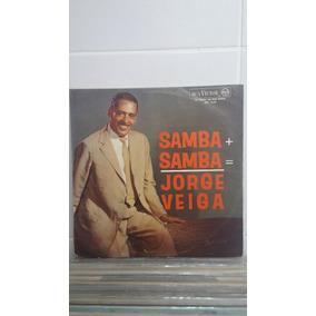 Lp Jorge Veiga Samba + Samba