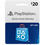 Psn 20 Usd Playstation Network Psn 20usd Codigo Americano