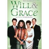 Box - Will & Grace - Quinta Temporada - 4 Dvds - Lacrado