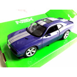 Auto Dodge Challenger Srt Coupe 1:24 Welly De Coleccion
