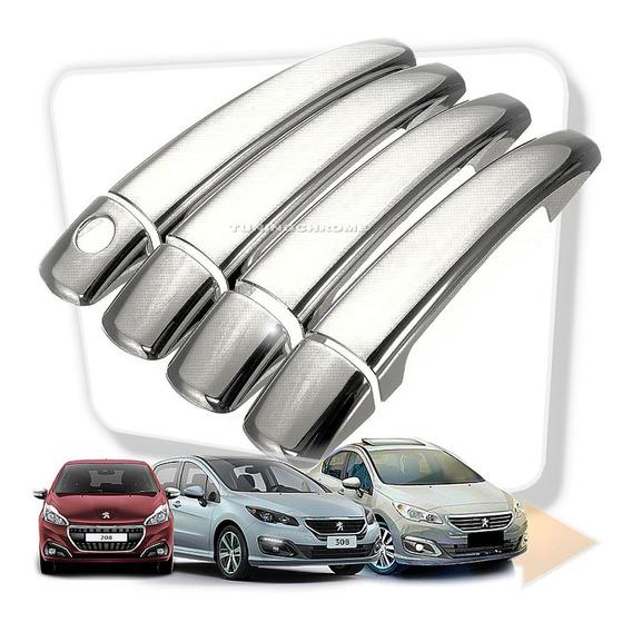 Peugeot 308 208 408 Cubre Manijas Envio Gratis Tuningchrome