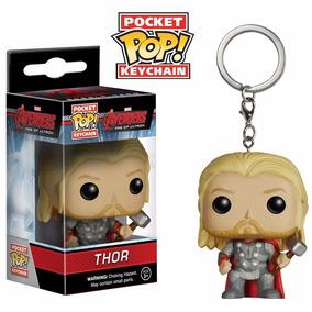 Thor Pop! Funko Chaveiro Marvel Vingadores - 4unid Fret Grat