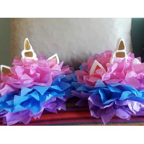 Centro de mesa de unicornio souvenirs para cumplea os for Diseno de mesa de unicornio