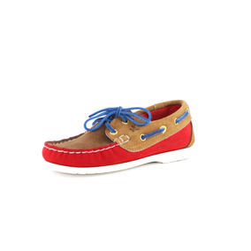 Zapatos Nauticos Mocasines Peskdores Niños Honeyred Hrk2002
