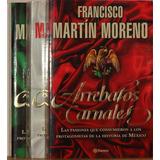 Biblioteca Francisco Martín Moreno -6 Obras -9 Tomos