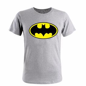 Remera - Batman Superman Linterna Verde Flash Superheroes