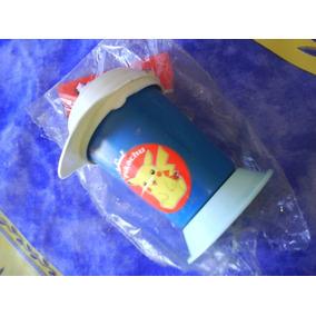 Vaso Pokemon P/sorbito Retro Coleccion Mide 12 Cm.alt.c/blis