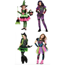 Disfraces Niñas Halloween Disfraz Dia De Brujas